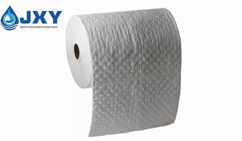 Dimpled Perforated Oil Absorbent Roll 40cm x 43m