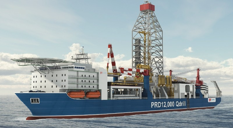 Compact Dp3 Drillship Offshore Oil Drilling Platform