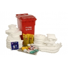 360 Ltr Oil Only Wheeled Spill Kit