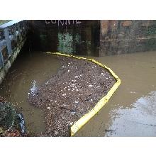 Floating Trash Boom for Lake