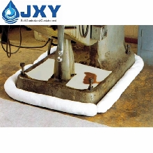 Industrial Oil Absorbent Sock Around Machinery
