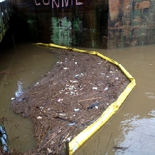Rubbish Containment Booms For HD River Conditions