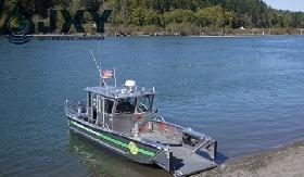 JXY Aluminum Oil Spill Response Workboat