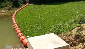Floating Trash Barrier System