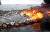 Oil Spill Fire Resistant Boom
