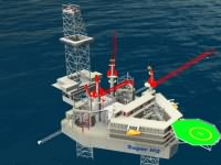 Jack-UP Oil Drilling Rig Platf